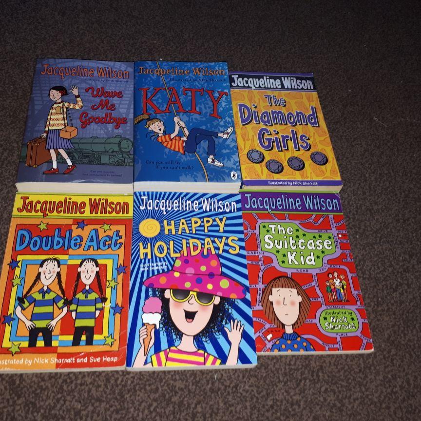 Jacqueline Wilson Books x32