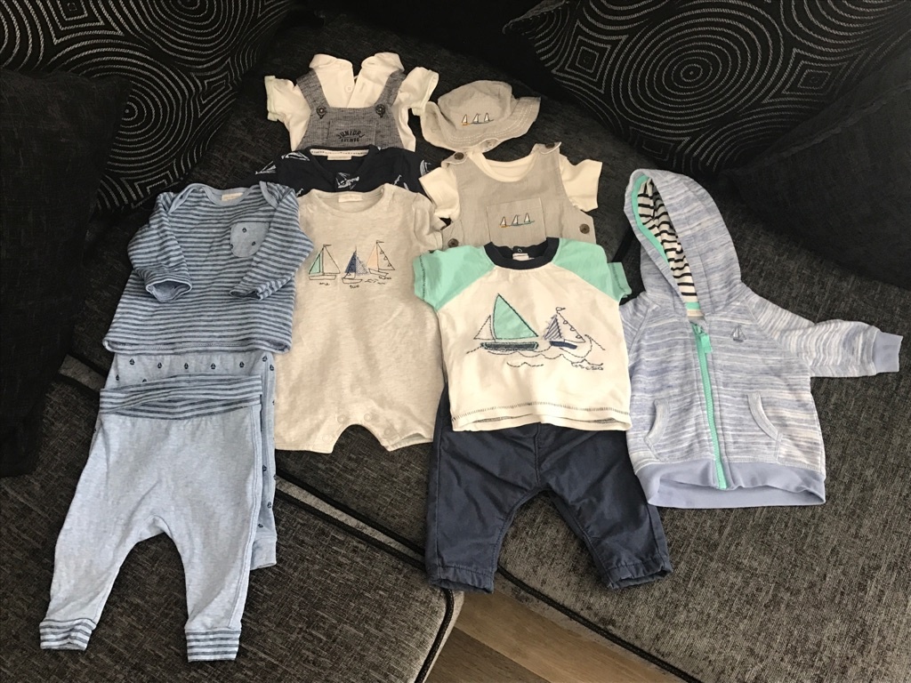 Boys Summer Bundle 0-3 Months