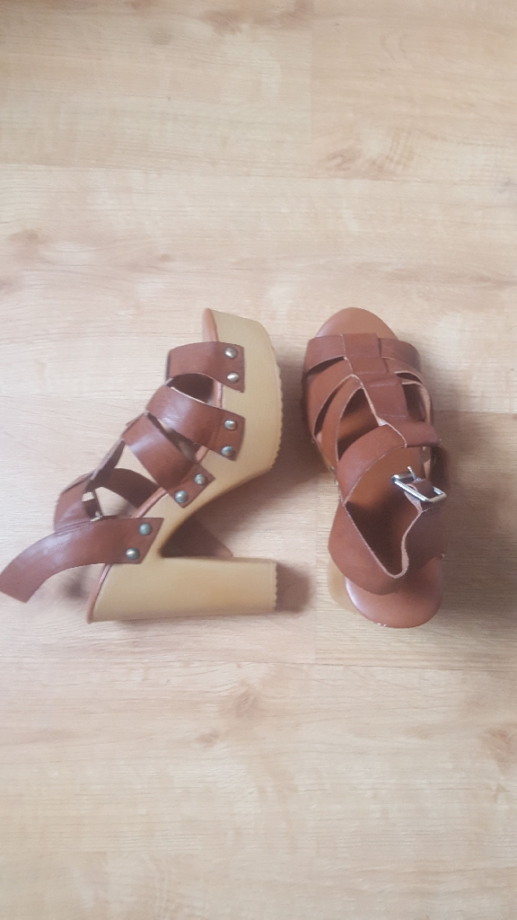 New Look heels, size 5, worn once