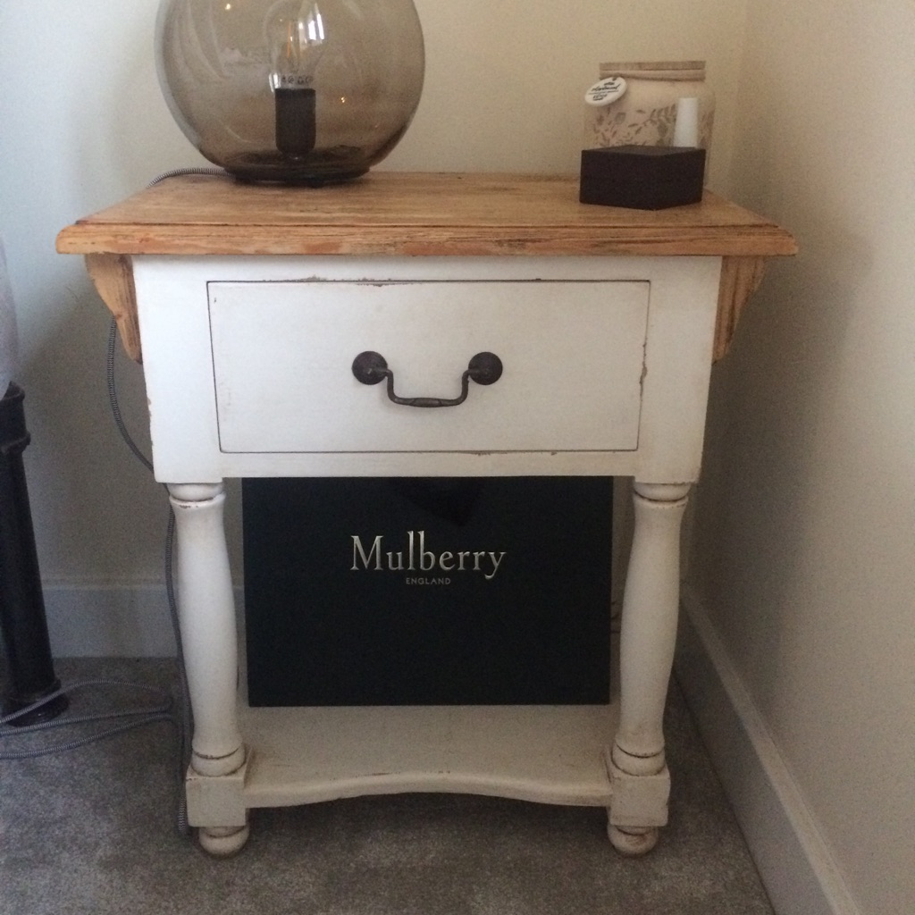 Antique/Shabby Chic Bedside Table