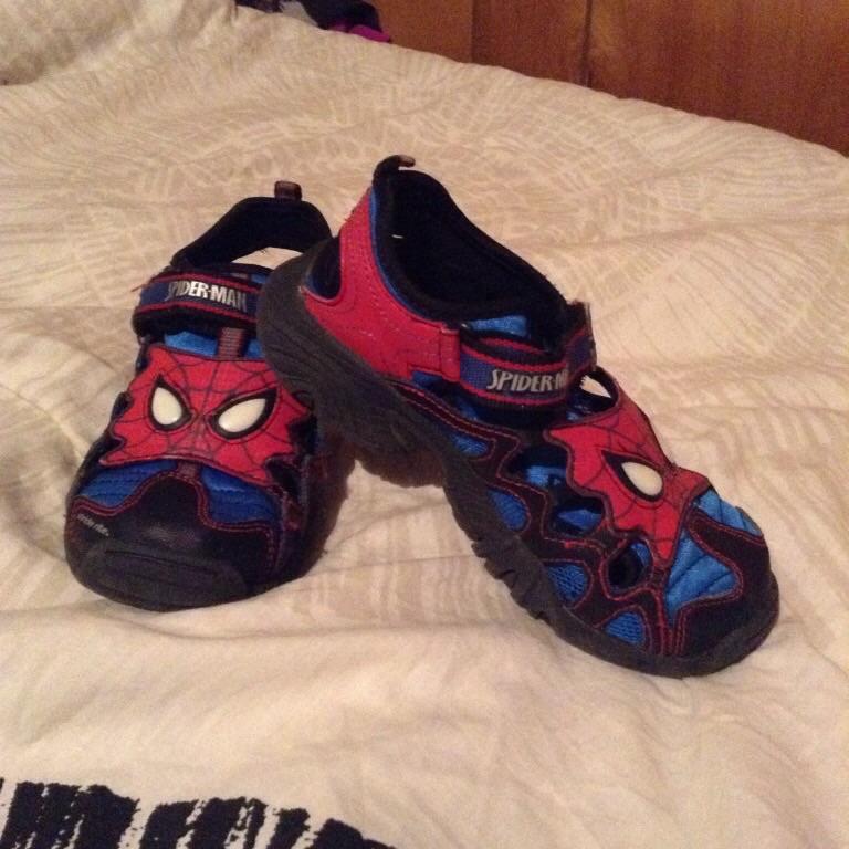 Spider-Man sandals