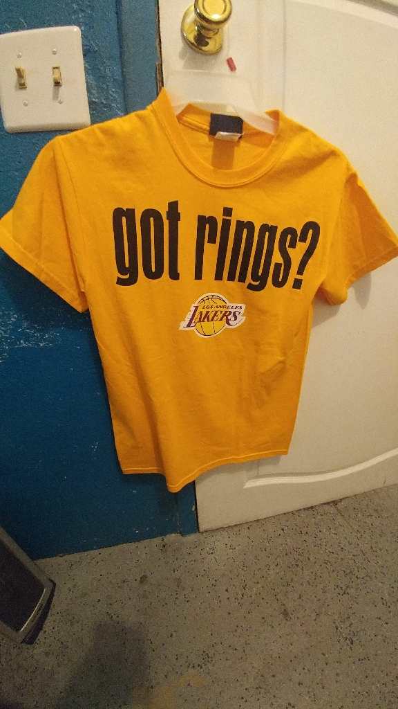 Los Angeles Lakers Got Rings? NBA exclusive 16X Champions Small