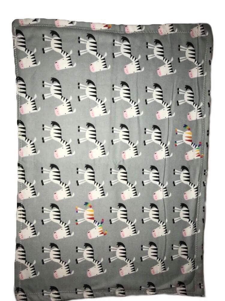 Zebra Burp Rag