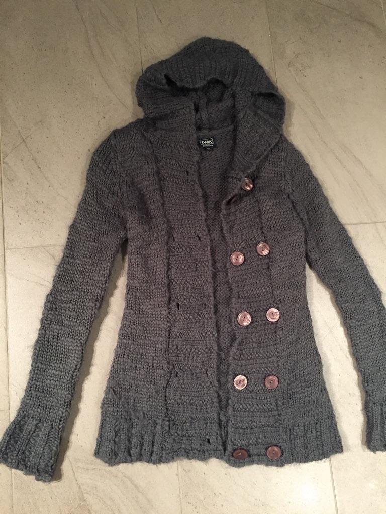 Warm woolen hoodie