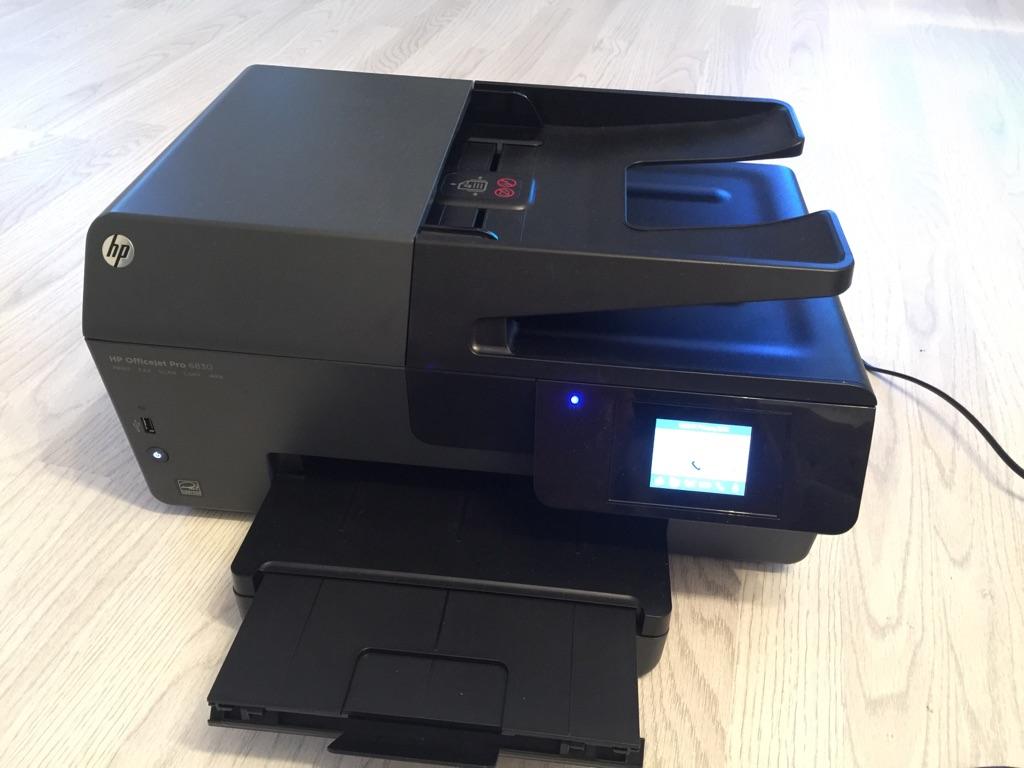 HP OfficeJet Pro 6830 All-in-One Scanner Fax