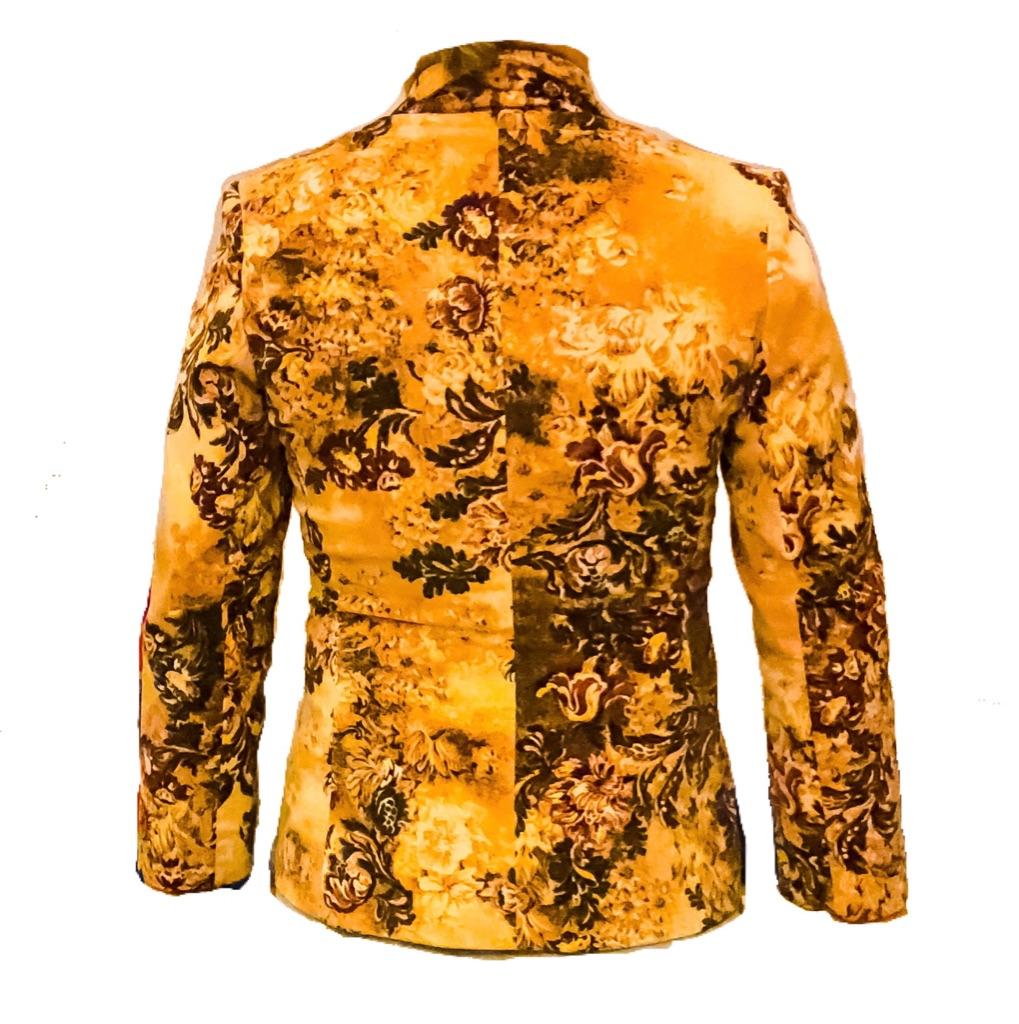 Generación X Velvet Blazer Jacket