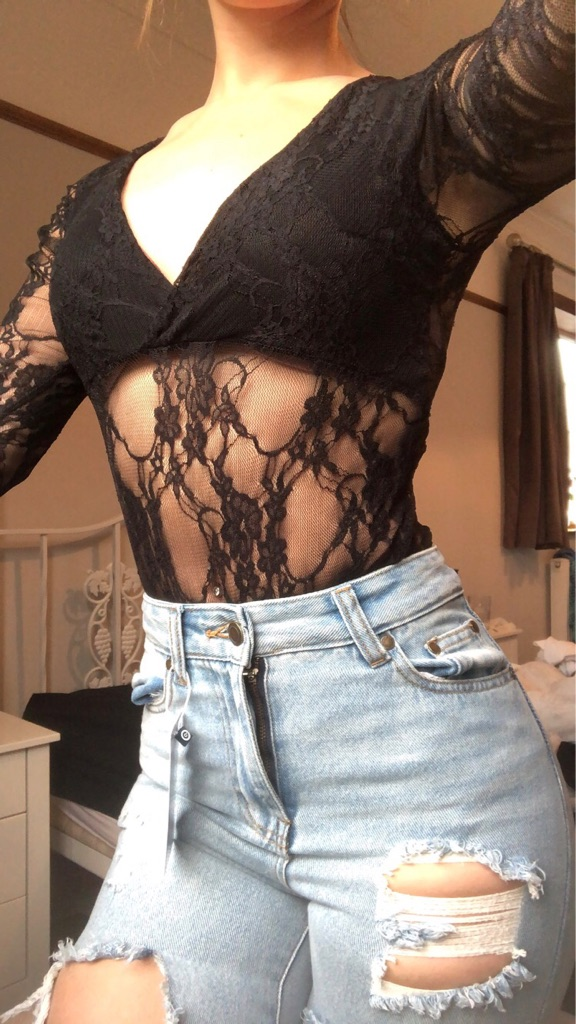 Pretty little thing mesh body suit size 10