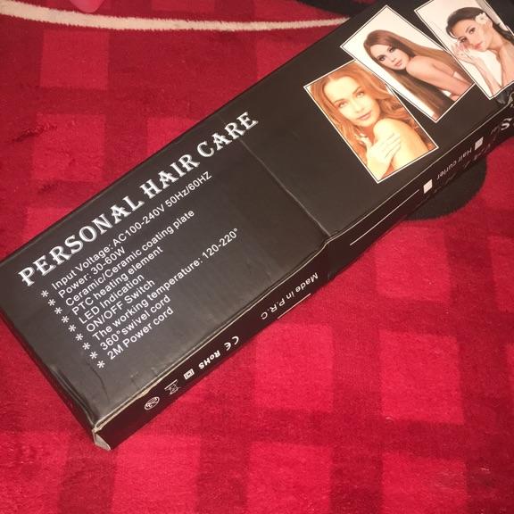 perfesional hair straightener