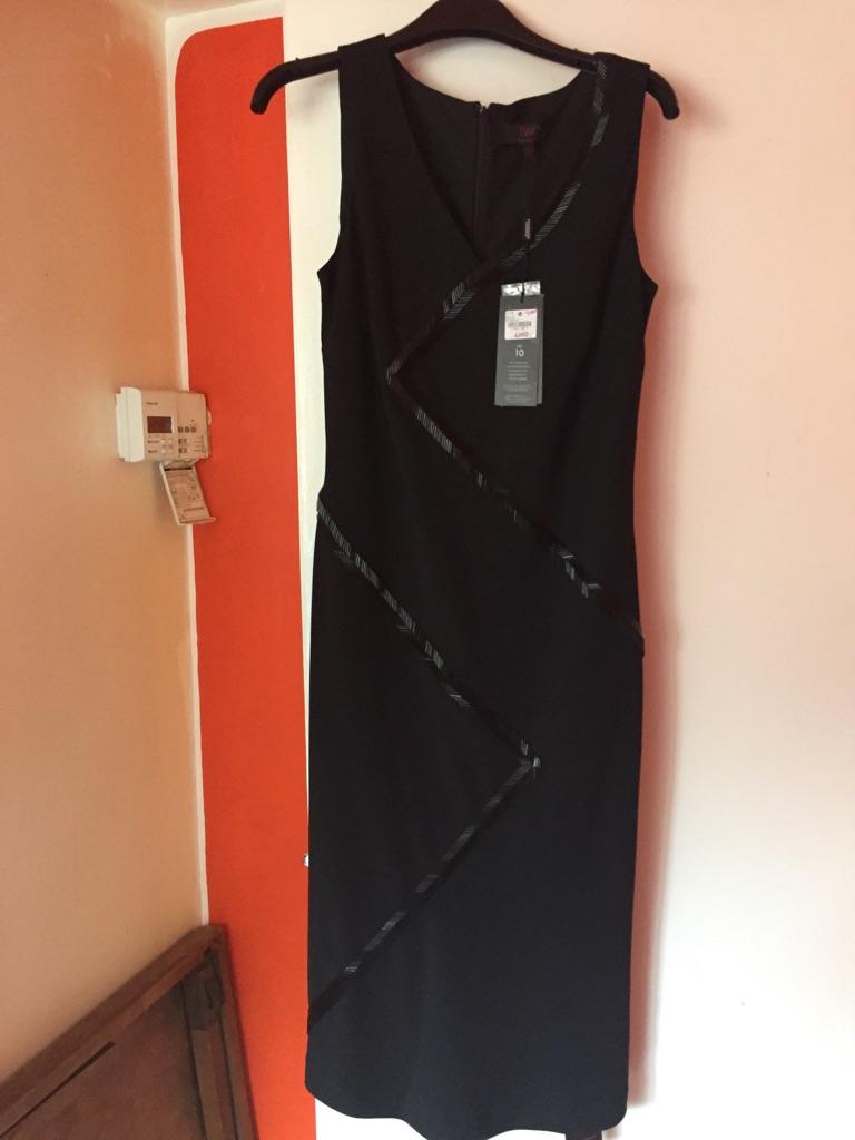 Black evening  dress by Tristan Webber
