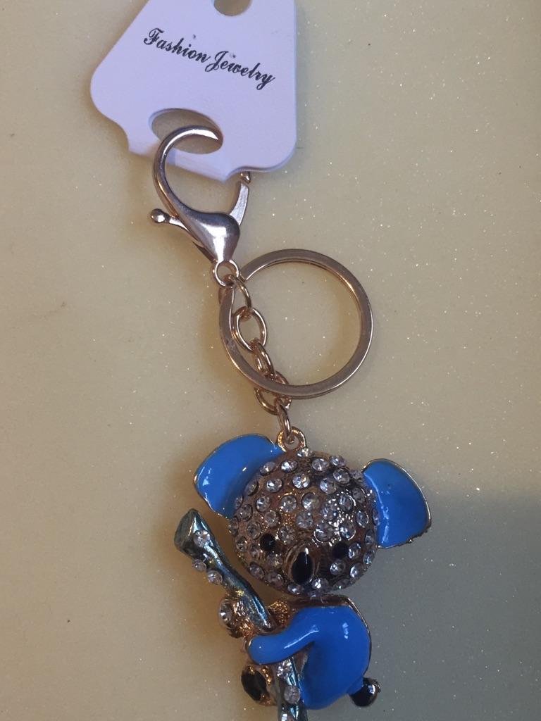 Keys ring holder with koala..