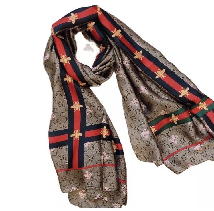 Silk cc scarf