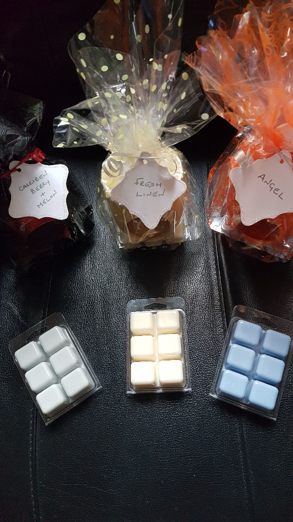 Soy wax candles,oil burner packs and wax melts