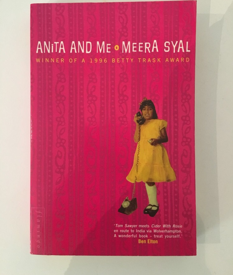 Anita and me by meera syal book good condition