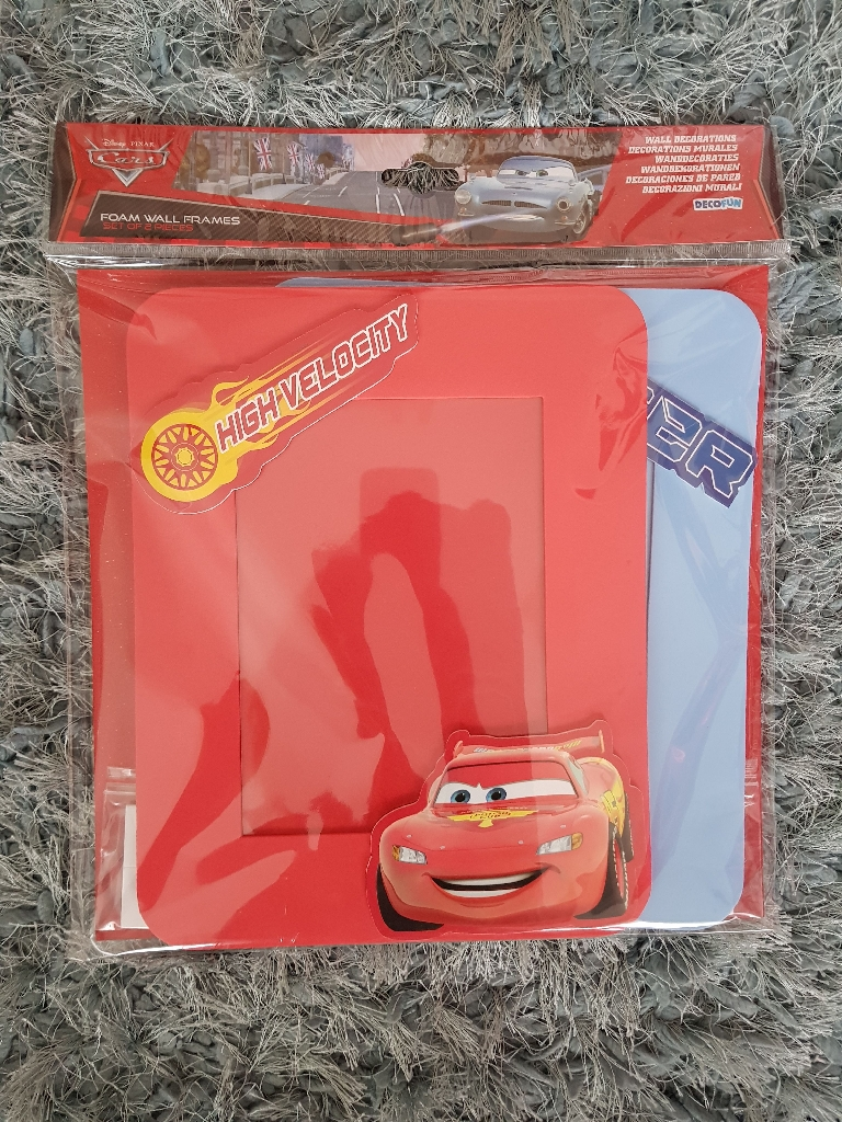 Brand new disney cars 2pk photo frames