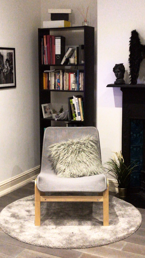 Chair and Rug