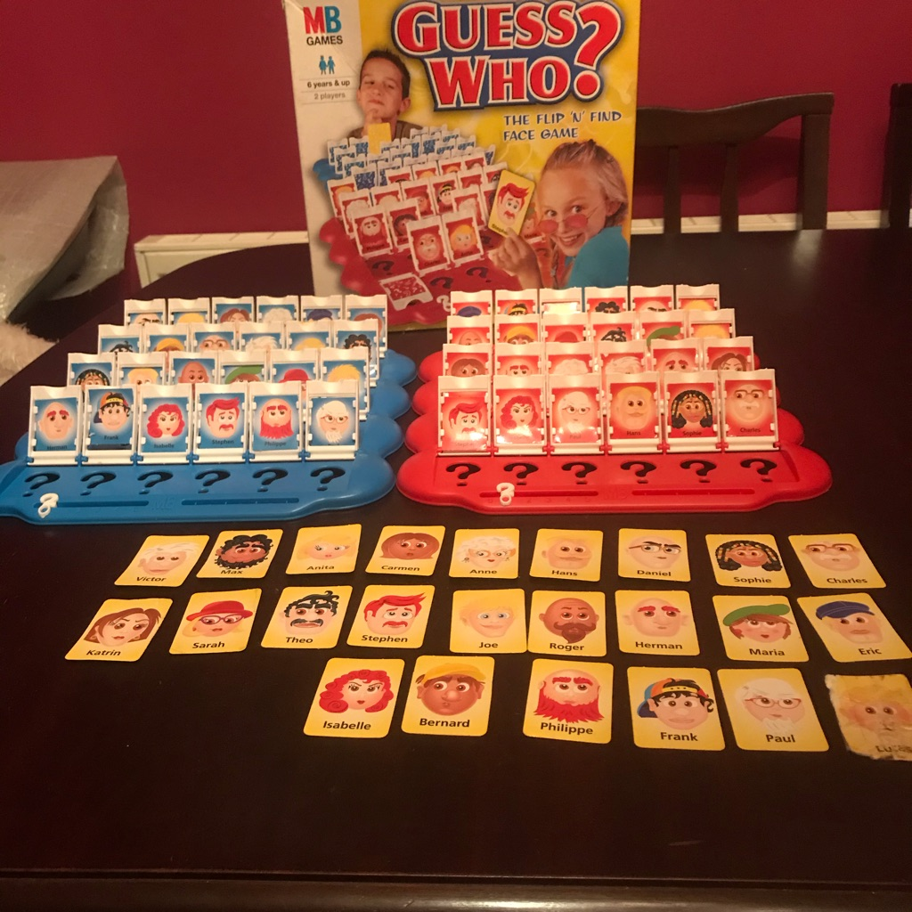 Brilliant Children's Guess Who? Game