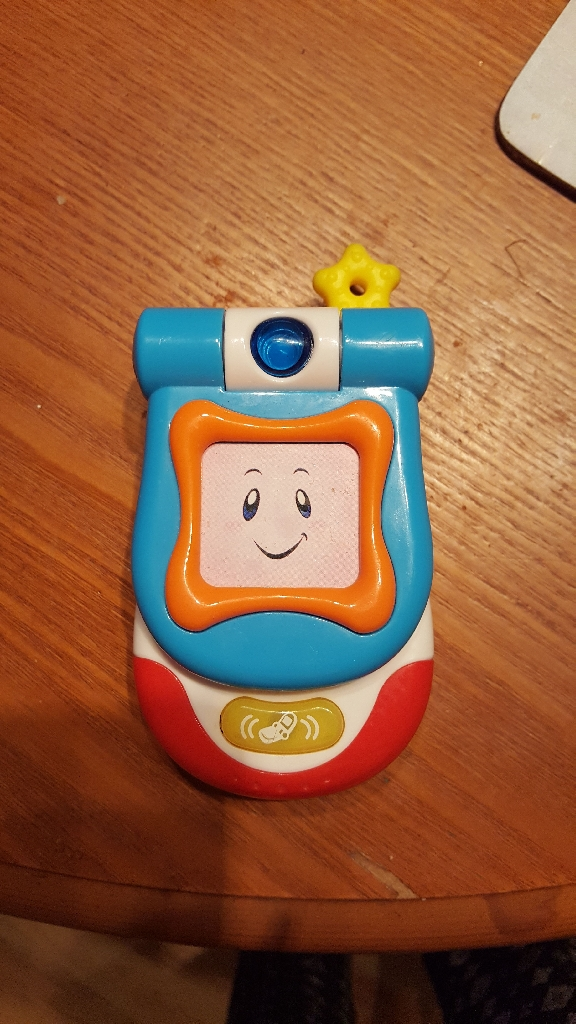 Unisex musical mobile phone hardly been used