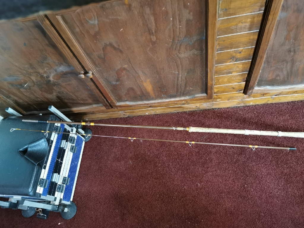 Vintage house of Hardy swing tip 9 1/2 fishing rod
