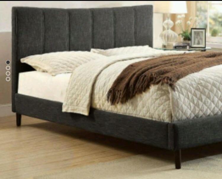 New , Full Size Platform Bed
