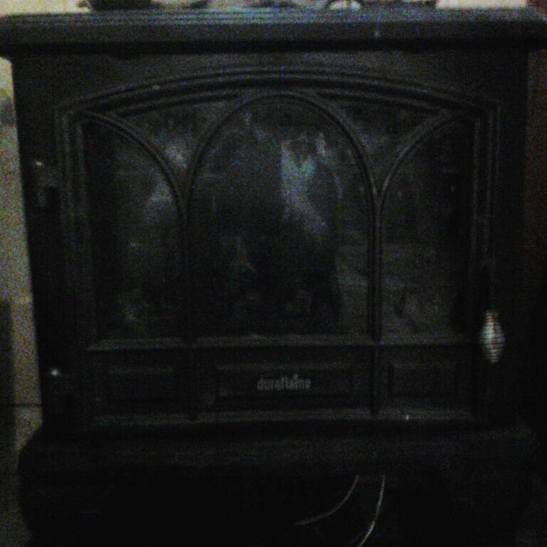 Indoor electric stove heater