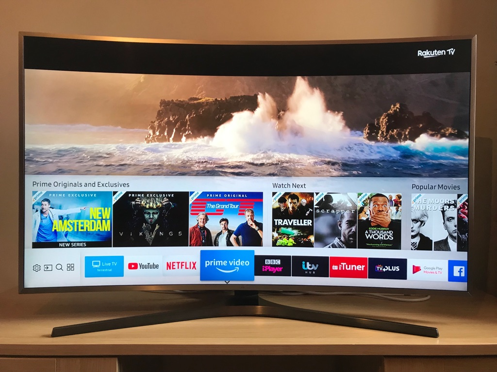 "SAMSUNG 49"" MU6670 Curved Active Crystal Colour Ultra HD HDR Smart TV"