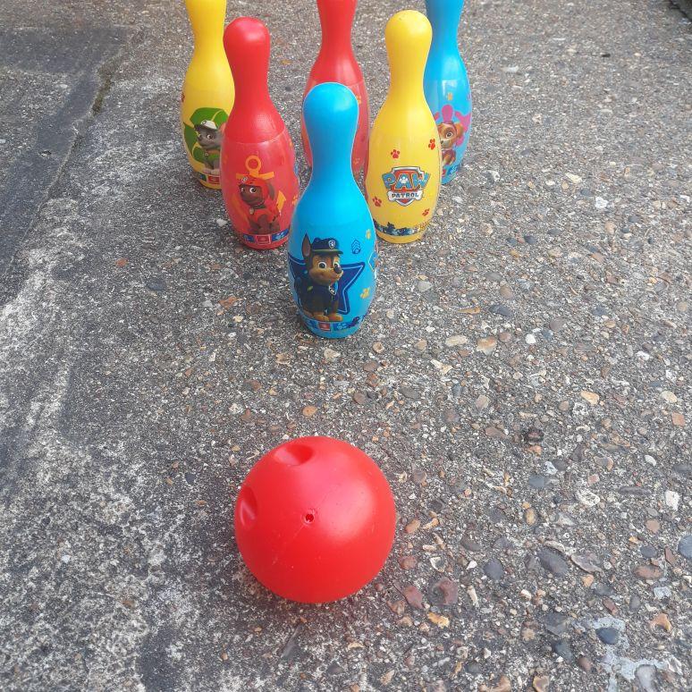 Paw🐾 Patrol bowling set 🎳
