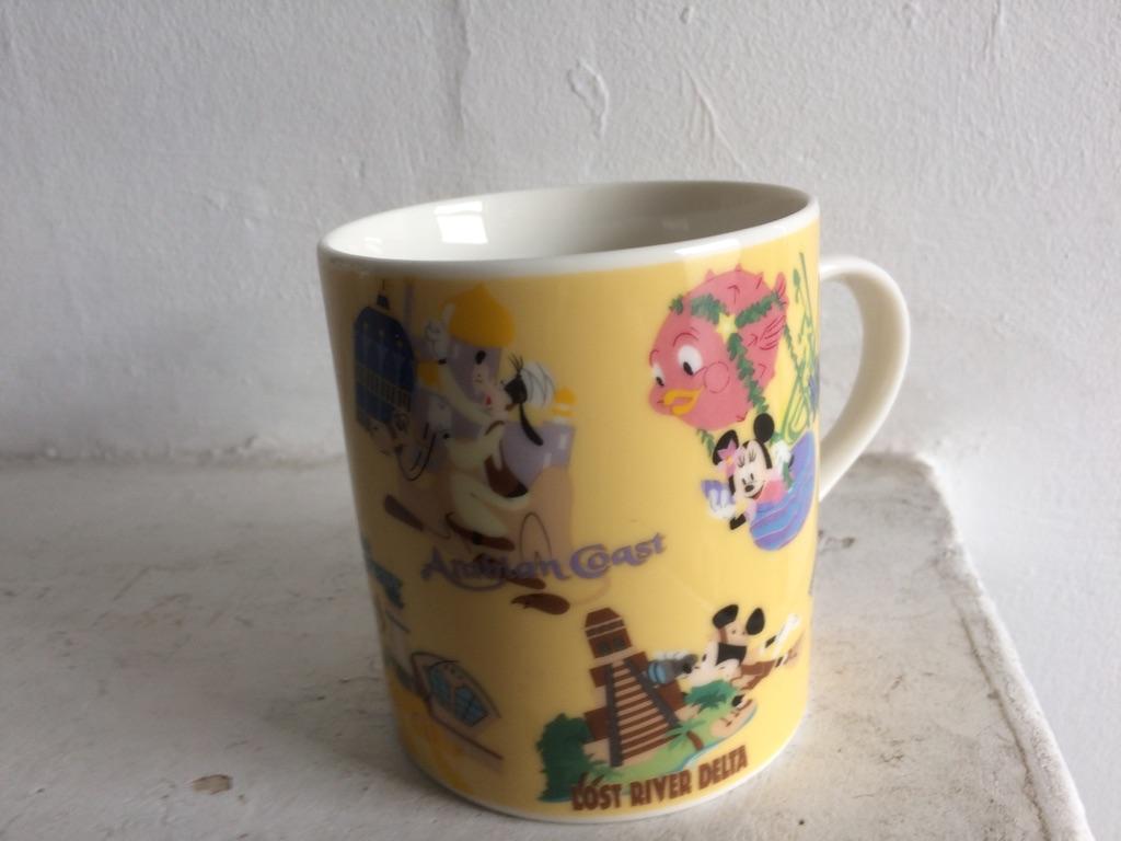 Tokyo Disney Sea novelty mug