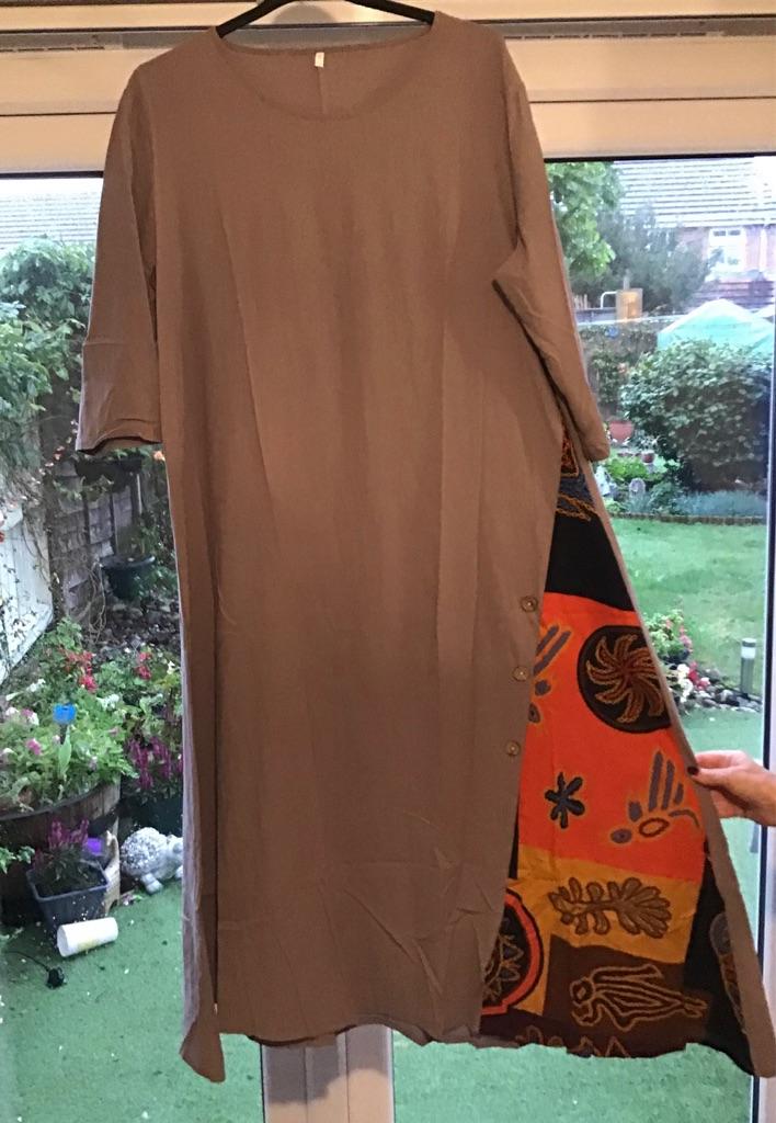 Plus size 22/24 maxi dresses.