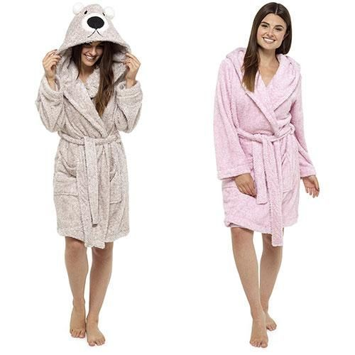 Ladies soft dressing gowns