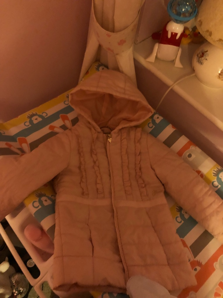 Girls guess coat age 4