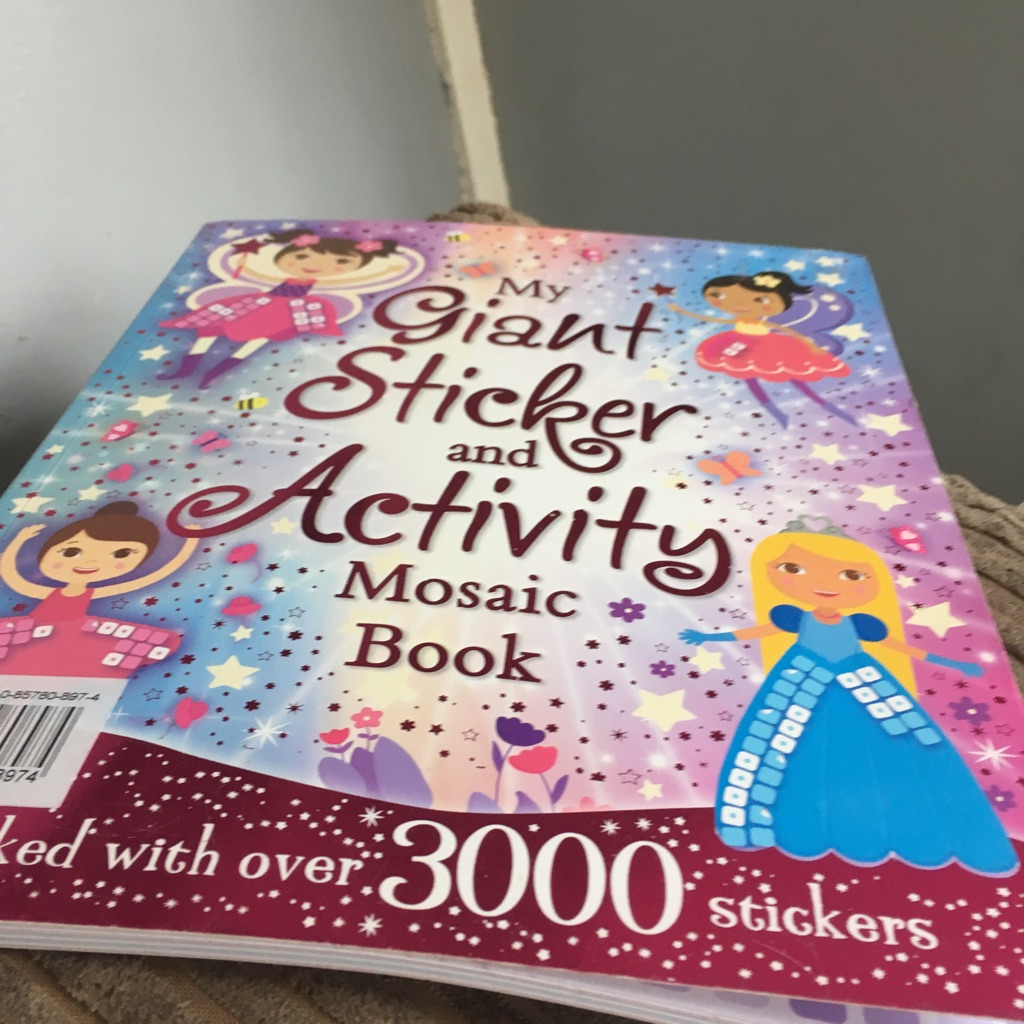 My giant sticker and activity mosaic book