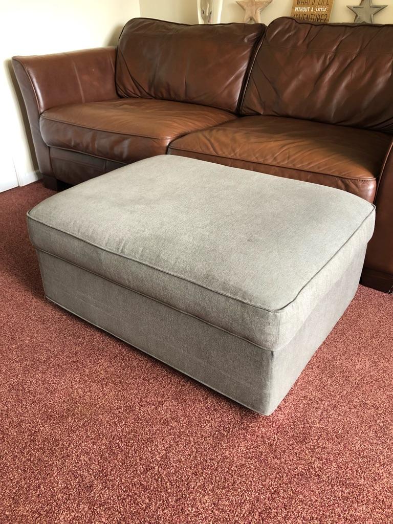 IKEA GRÖNLID storage footstool