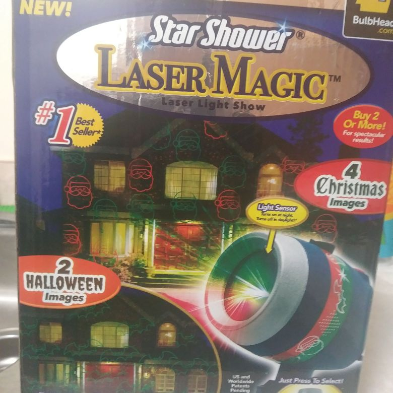 Laser Show Christmas Lights
