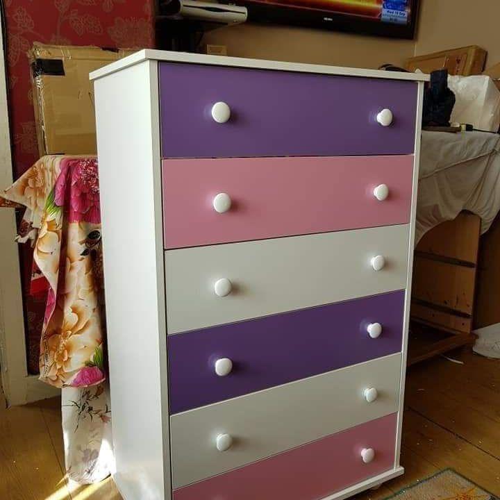 Pink drawer £100