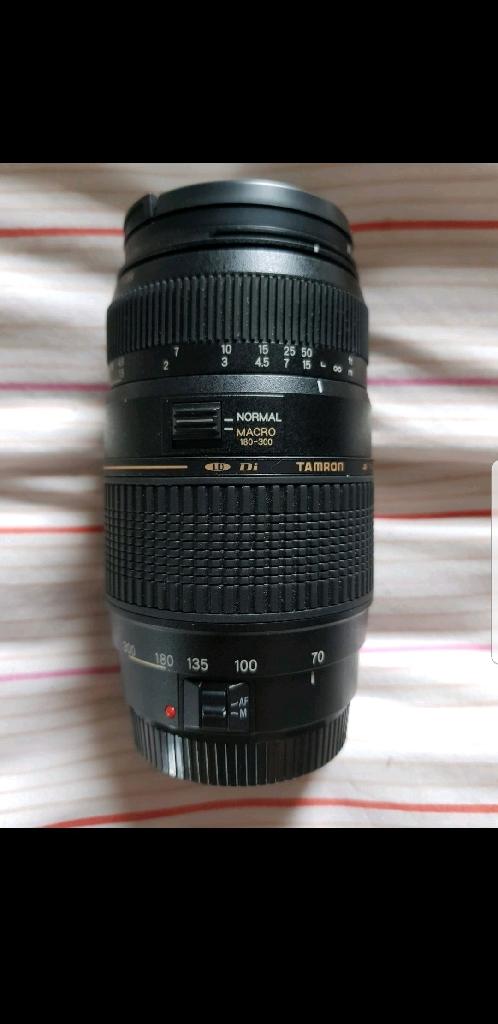 Tamron AF 70-300mm f /4-5.6 Di LD macro Canon