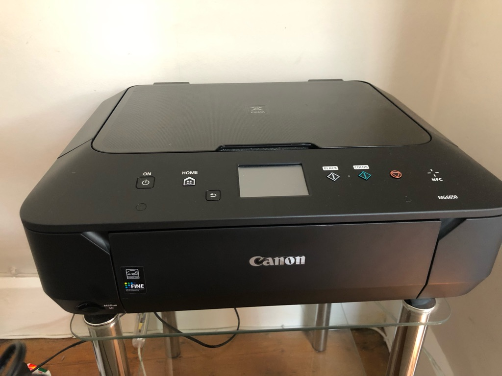 Canon PIXMA MG6650 printer