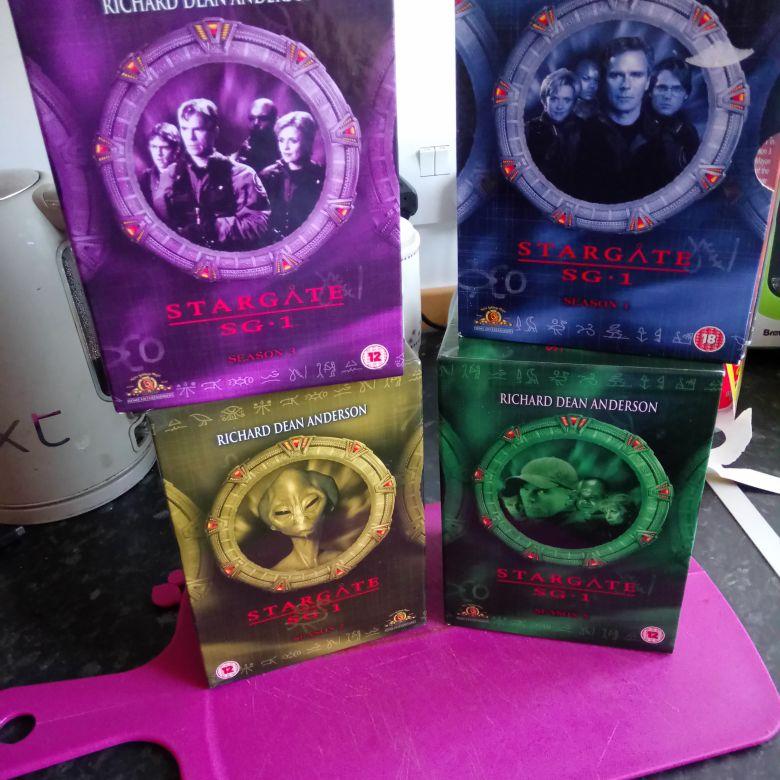 Stargate dvds £5 lot