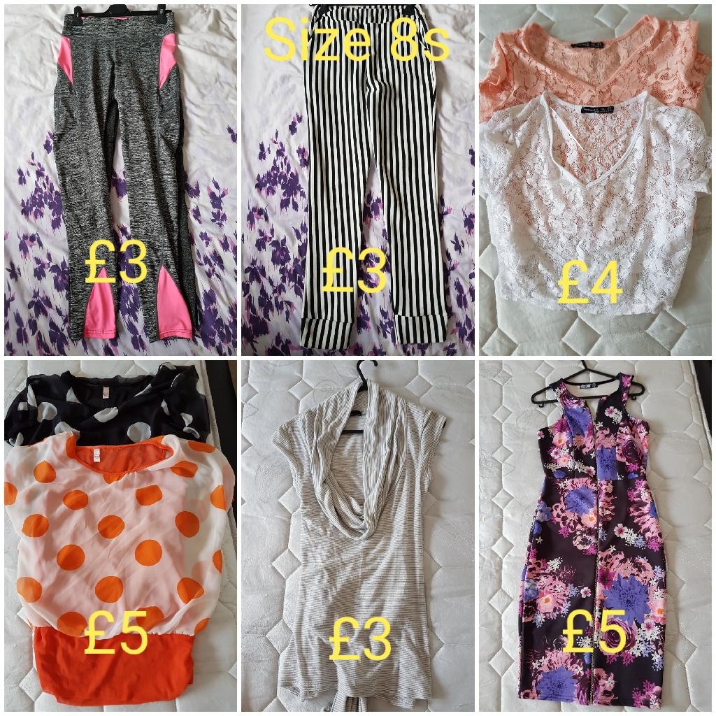 Size 8 bundle