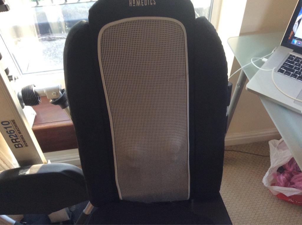 Homedics Foldable Shiatsu Massage Cushion With Heat