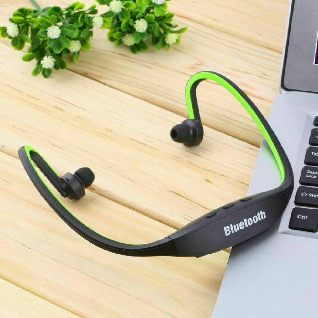 Bluetooth Wireless Headset Stereo Headphone Earphone Handfree Sport Universal