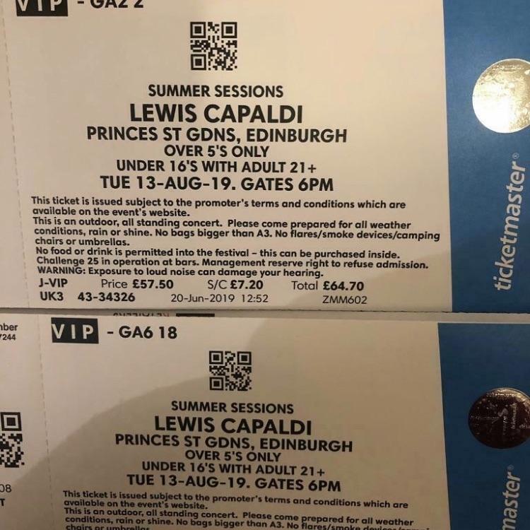 Lewis tickets