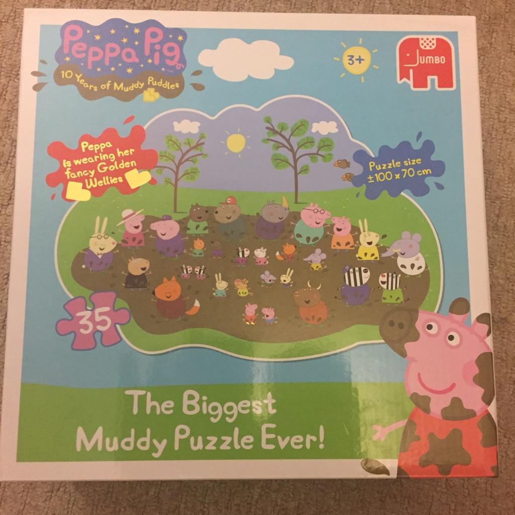 Peppa Pig Biggest Floor Puzzle