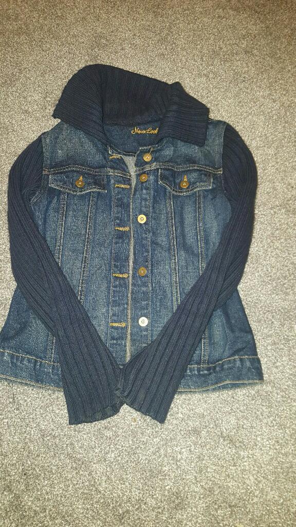 Size 10 New look denim jacket
