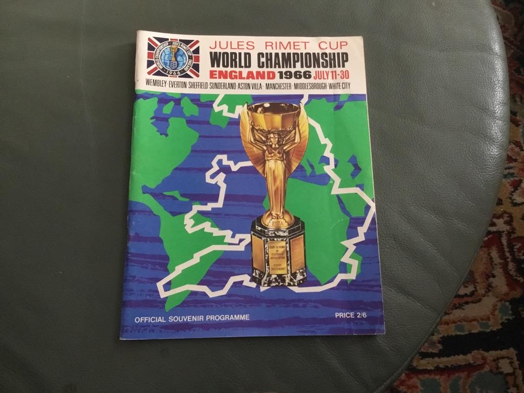 Jules rimet Cup World championship England 1966 July 11-30