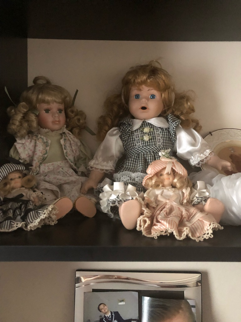 Vintage china dolls needing new home