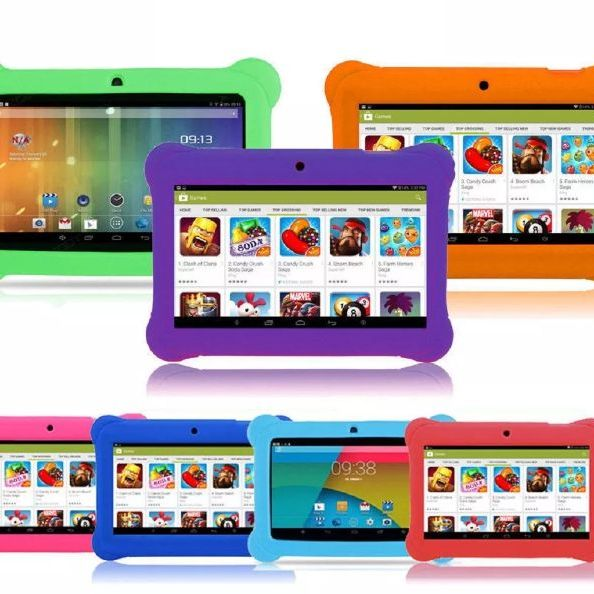 "Kids 7"" android tablet choice of case colour"
