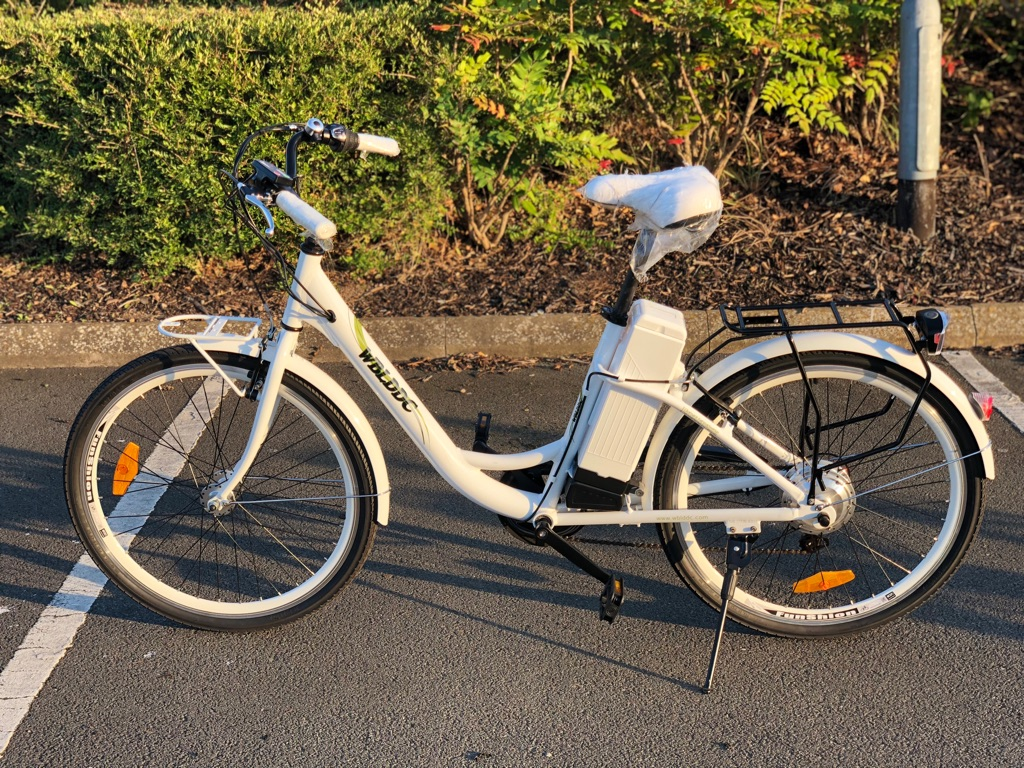 Ladies Electric Bike with Gears