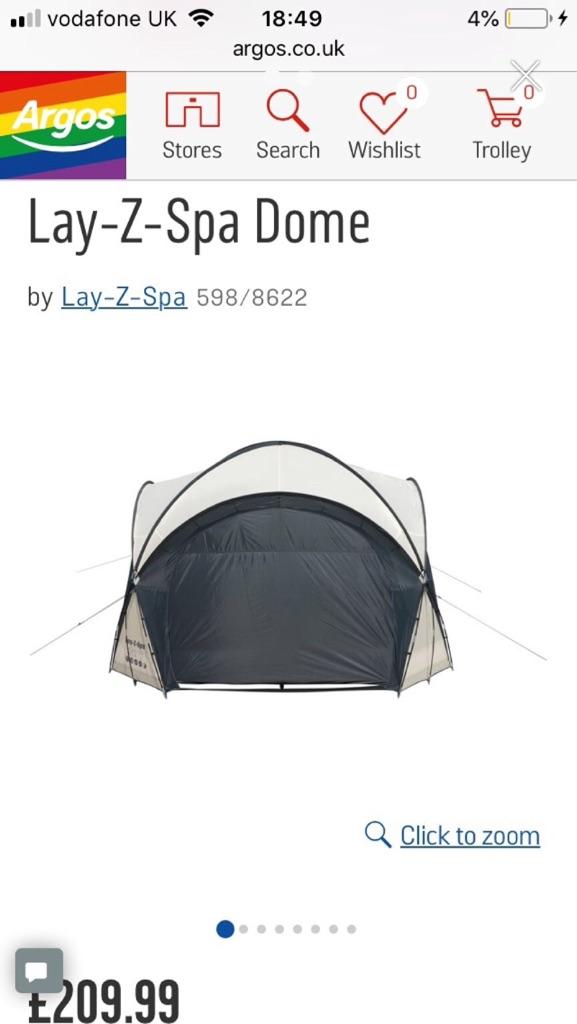 Lay-Z Spa Dome