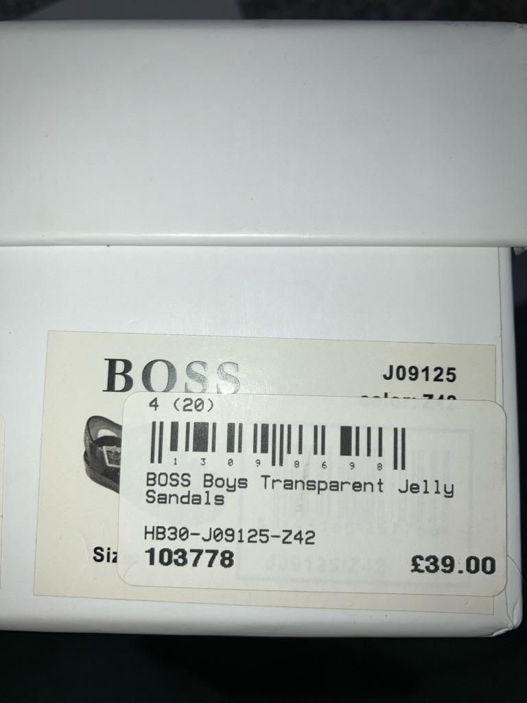 Boss JELLY sandals