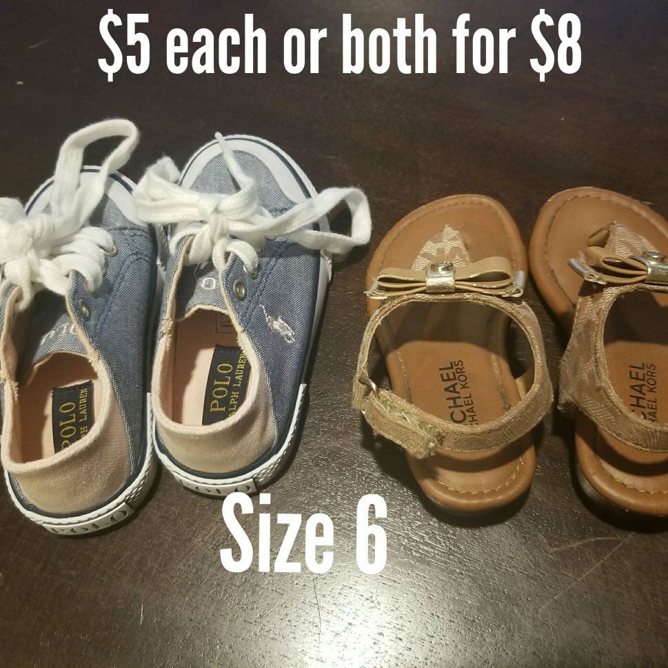 Toddler shoes (size 6)